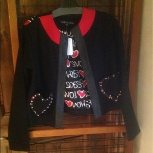 Nwt adorable crop jacket